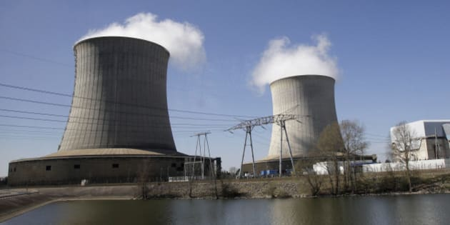 A nuclear power plant of EDF (Electricite de France) is seen along the Loire river in Saint-Laurent-des-Eaux, central France, March 26, 2012. (AP Photo/Michel Euler)