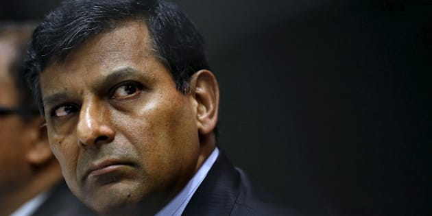 Reserve Bank of India (RBI) Governor Raghuram Rajan attends a news conference after their bimonthly monetary policy review in Mumbai, India, April 5, 2016. REUTERS/Danish Siddiqui