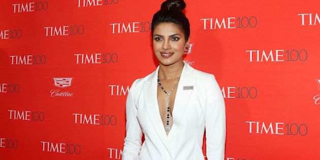 NEW YORK, NY - APRIL 26:  Actress Priyanka Chopra attends the 2016 Time 100 Gala at Frederick P. Rose Hall, Jazz at Lincoln Center on April 26, 2016 in New York City.  (Photo by Taylor Hill/FilmMagic)