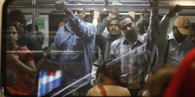 India, Delhi. Subway India.