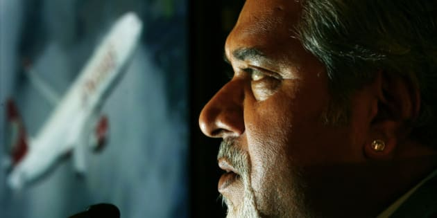 Kingfisher Airlines Chairman Vijay Mallya speaks during a news conference about the new Kingfisher Airlines service between London and Bangalore in southern India, in London September 4, 2008.    REUTERS/Luke MacGregor           (BRITAIN)