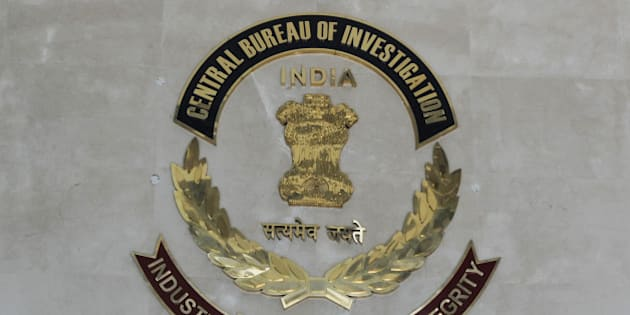 The Indian Central Bureau of Investigation (CBI) logo is pictured at the CBI headquarters  in New Delhi on December 3, 2012. The CBI is an Indian governmental agency that jointly serves as a criminal investigation body, national security agency and intelligence agency. AFP PHOTO/ SAJJAD HUSSAIN        (Photo credit should read SAJJAD HUSSAIN/AFP/Getty Images)
