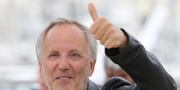 Actor Fabrice Luchini poses for photographers during a photo call for the film Ma Loute (Slack Bay) at the 69th international film festival, Cannes, southern France, Friday, May 13, 2016. (AP Photo/Thibault Camus)