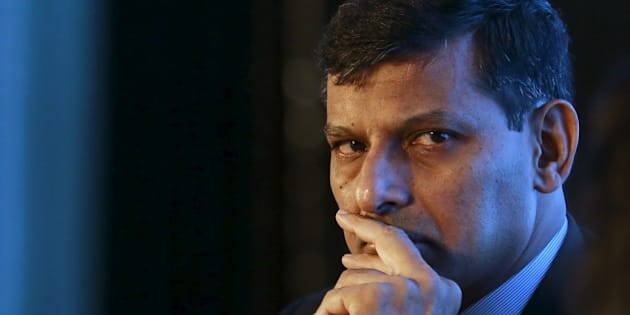 Reserve Bank of India (RBI) Governor Raghuram Rajan listens to a question during an industry event in Mumbai, India, August 20, 2015. The Reserve Bank of India continues to watch the progress of monsoon to assess the overall impact on inflation as well as global developments, governor Raghuram Rajan said on Thursday. REUTERS/Danish Siddiqui