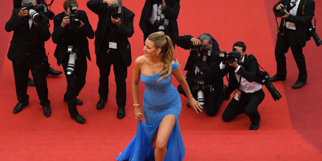Photos Blake Lively Star Incontestee Du Tapis Rouge Du Festival De