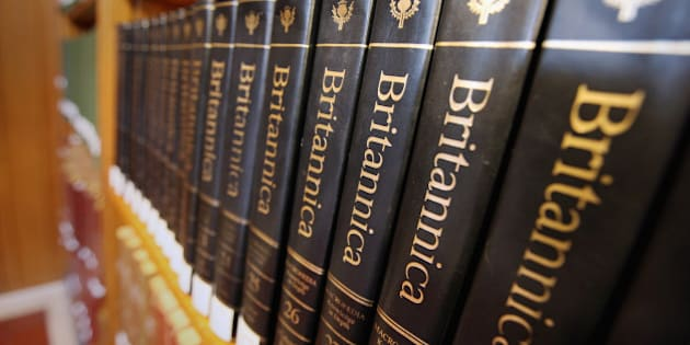 NEW YORK, NY - MARCH 14:  Encyclopedia Britannica editions are seen at the New York Public Library on March 14, 2012 in New York City. Encyclopedia Britannica announced it will be ceasing its print edition of reference books for the first time in its 244-year history to focus solely on digital versions.  (Photo by Mario Tama/Getty Images)