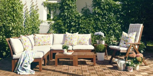 Trucos para hacer crecer tu terraza o cómo sacarle el máximo partido