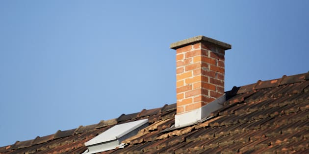 Naked man gets stuck in chimney while playing hide and