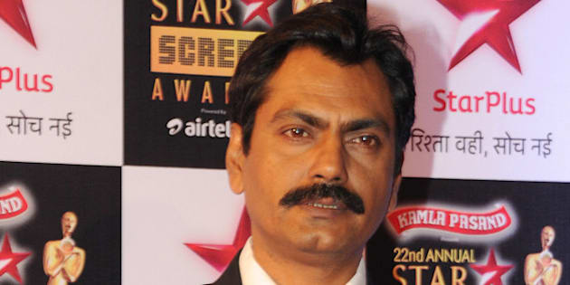Indian Bollywood actor Nawazuddin Siddiqui poses for a photograph during the Star Screen Awards 2016 ceremony in Mumbai on late January 8, 2016. AFP PHOTO / STR / AFP / STRDEL        (Photo credit should read STRDEL/AFP/Getty Images)