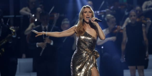 """Billboard Icon Award recipient Celine Dion performs """"The Show Must Go On"""" at the 2016 Billboard Awards in Las Vegas, Nevada, U.S., May 22, 2016.  REUTERS/Mario Anzuoni"""