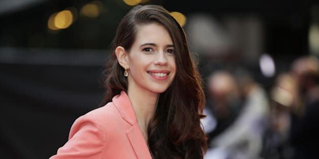 Actress Kalki Koechlin poses for photographers upon arrival at the premiere of the film Mrgarita With a Straw, as part of the BFI London Film Festival, in central London, Friday, Oct. 17, 2014. (Photo by Grant Pollard/Invision/AP)