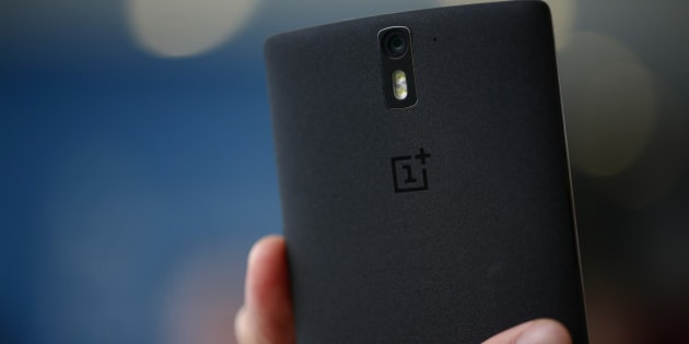 A 1+ logo sits on the case of a OnePlus One smartphone in this arranged photograph at the Mobile World Congress in Barcelona, Spain, on Monday, March 2, 2015. The event, which generates several hundred million euros in revenue for the city of Barcelona each year, also means the world for a week turns its attention back to Europe for the latest in technology, despite a lagging ecosystem. Photographer: Simon Dawson/Bloomberg via Getty Images