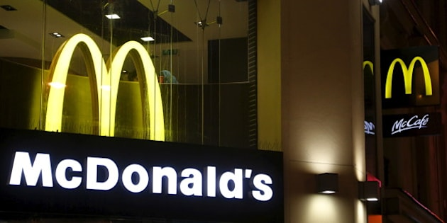 View of McDonald's logo in Paris, France, in this March 1, 2016, file photo.   REUTERS/Jacky Naegelen/Files  GLOBAL BUSINESS WEEK AHEAD PACKAGE - SEARCH 'BUSINESS WEEK AHEAD APRIL 18'  FOR ALL IMAGES