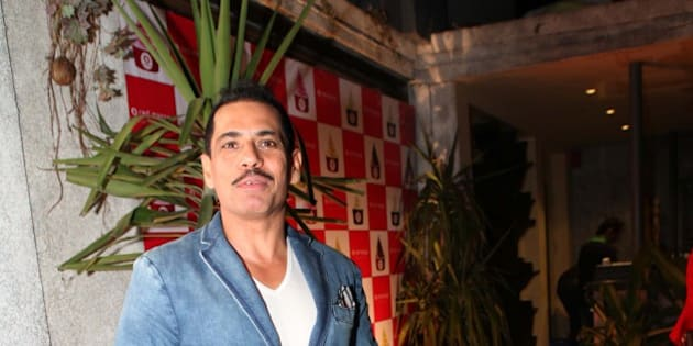 NEW DELHI, INDIA - FEBRUARY 17: Entrepreneur Robert Vadra at Red Mango Anniversary Party at Ludus, Saket on February 17, 2013 in New Delhi, India. (Photo By Manoj Verma/Hindustan Times via Getty Images)