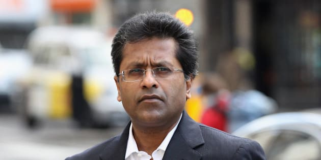 LONDON, ENGLAND - MARCH 05:  Lalit Modi, a former Commissioner of Indian Premier League cricket, arrives at the High Court on March 5, 2012 in London, England. Ex-New Zealand cricketer Chris Cairns is suing Mr Modi for libel after a tweet by Mr Modi in January 2010 alleged that Mr Cairns was involved in match fixing.  (Photo by Oli Scarff/Getty Images)