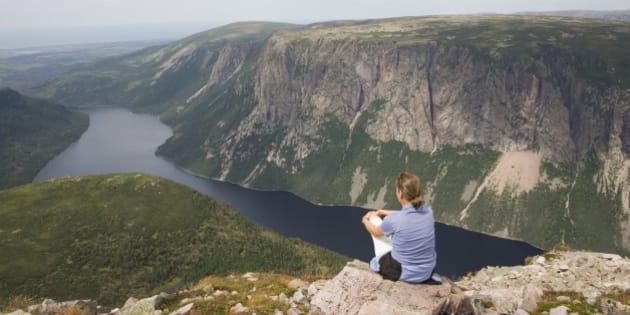 'Gros Morne mountain, Gros Morne National Park, Newfoundland, Canada'