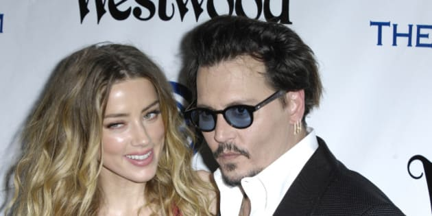Photo by: Michael Germana/STAR MAX/IPx 1/9/16 Amber Heard and Johnny Depp at The Art of Elysium's Ninth Annual Heaven Gala. (Culver City, CA)