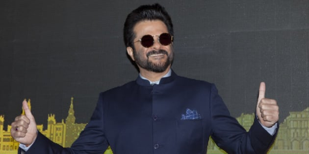 Bollywood actor Anil Kapoor poses for photographers before the press conference for the 17º Edition of IIFA Weekend & Awards in Madrid, Spain. Monday, March 14, 2016. (AP Photo/Abraham Caro Marin)