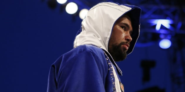 Britain Boxing - Tony Bellew v Ilunga Makabu WBC Cruiserweight Title - Goodison Park - 29/5/16 Tony Bellew before the fight Mandatory Credit: Action Images / Ed Sykes Livepic EDITORIAL USE ONLY.