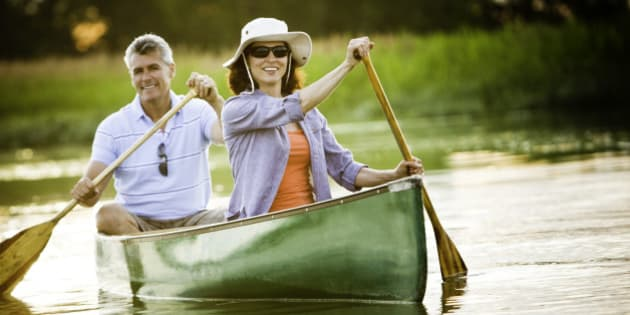 Mature Couple with a Healthy Outdoor Lifestyle