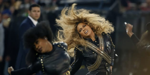 "FILE - In this Sunday, Feb. 7, 2016, file photo, Beyonce performs during halftime of the NFL Super Bowl 50 football game in Santa Clara, Calif. After the recent debut of her visual album ""Lemonade"" on HBO, a Ticketmaster representative told The Associated Press on Wednesday, April 27, that the ticket outlet company saw searches for Beyoncé's concerts increased by 116 percent compared to last week. (AP Photo/Matt Slocum, File)"
