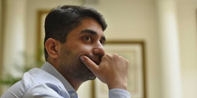 NEW DELHI, INDIA - AUGUST 12: Indian Olympic Gold Medalist shooter Abhinav Bindra during an interaction with Hindustan Times on August 12, 2015 in New Delhi, India. Bindra says that he shies away from media interactions as he does not have any achievements to talk about. He became the fourth Indian shooter to win a quota place for the Rio Olympics after he finished sixth in the Men's 10m Air Rifle final at the ISSF Shooting World Cup in Munich. (Photo by Vipin Kumar/Hindustan Times via Getty Images)