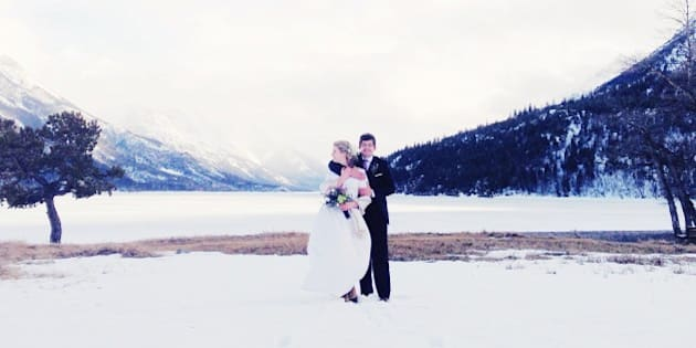 Wedding in Waterton national parks