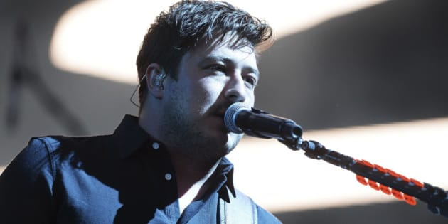 EXETER, ENGLAND - MAY 28:  Marcus Mumford of Mumford & Sons performs during day 1 of BBC Radio 1's Big Weekend at Powderham Castle on May 28, 2016 in Exeter, England.  (Photo by Dave J Hogan/Dave J Hogan/Getty Images)