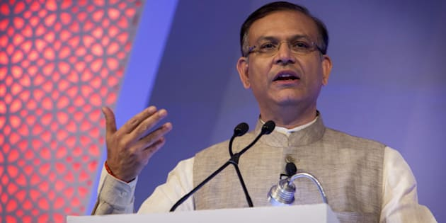 Jayant Sinha, India's junior finance minister, speaks during the Advancing Asia Conference in New Delhi, India, on Saturday, March 12, 2016. The conference runs through March 13. Photographer: Kuni Takahashi/Bloomberg via Getty Images
