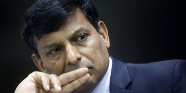 Governor of the Reserve Bank of India Raghuram Rajan attends a press conference in Mumbai, India, Tuesday, Dec. 1, 2015. Rajan on Tuesday kept key rates unchanged citing multiple factors, according to news reports. (AP Photo/Rajanish Kakade)
