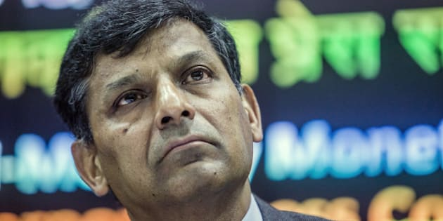 Raghuram Rajan, governor of the Reserve Bank of India (RBI), listens during a news conference in Mumbai, India, on Tuesday, June 7, 2016. Rajan urged patience regarding his future plans after holding interest rates at a five-year low. Photographer: Prashanth Vishwanathan/Bloomberg via Getty Images