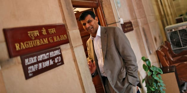 FILE PHOTO: India's chief economic adviser Raghuram Rajan stands outside his room at the finance ministry in New Delhi August 6, 2013.  REUTERS/Adnan Abidi/File photo