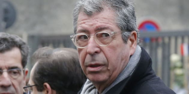Mayor of  Levallois-Perret Patrick Balkany attends a ceremony to honore late policewoman Clarissa Jean-Philippe who died in last year's January attacks in Montrouge south of Paris, Saturday Jan. 9, 2016.  (AP Photo/Michel Euler)