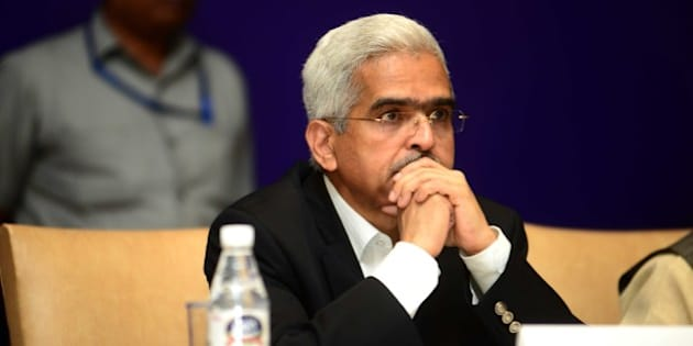 NEW DELHI, INDIA - AUGUST 24: Shaktikanta Das, Revenue Secretary at All India Conference of Chief Commissioners and Director General of Customs and Central Excise and Service Tax, on August 24, 2015 in New Delhi, India. (Photo by Ramesh Pathania/Mint via Getty Images)