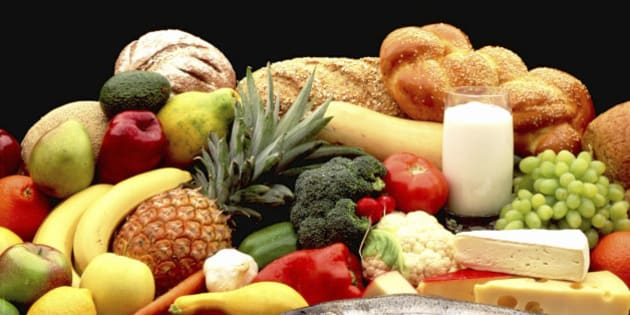 Daily serving of fruit and vegetables and meat