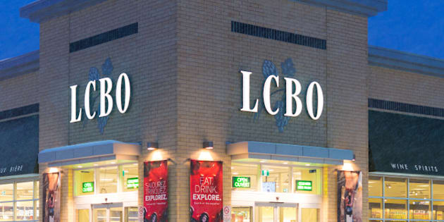 TORONTO, ONTARIO, CANADA - 2015/02/07: LCBO during a snowstorm, The Liquor Control Board of Ontario is a non-share capital provincial Crown corporation and it is accountable to the Ministry of Finance in the province. (Photo by Roberto Machado Noa/LightRocket via Getty Images)