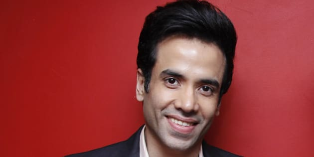 NEW DELHI, INDIA - JANUARY 21: (Editor's Note: This is an exclusive shoot of Hindustan Times) Bollywood actor Tusshar Kapoor during an interview for the promotion of his upcoming movie 'Kyaa Kool Hai Hum 3' at HT Media Office on January 21, 2016 in New Delhi, India. (Photo by Shivam Saxena/Hindustan Times via Getty Images)