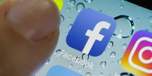 BERLIN, GERMANY - JUNE 17:  In this photo illustration the app of facebook is displayed on a smartphone on June 17, 2016 in Berlin, Germany.  (Photo Illustration by Thomas Trutschel/Photothek via Getty Images)