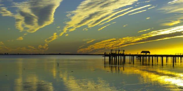Sunset,Tampa Bay, St Petersburg, FL