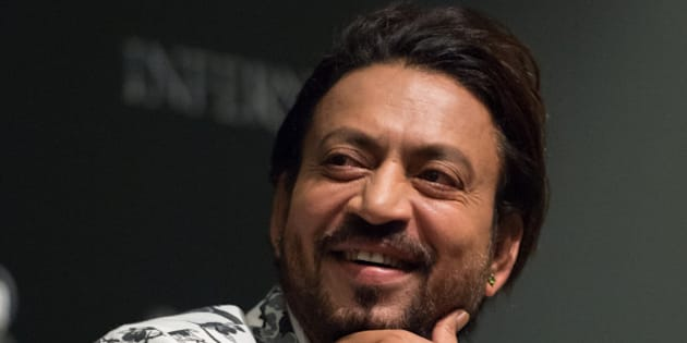 SINGAPORE - JUNE 13:  Actor Irrfan Khan speaks during the 'Inferno' press conference held at ArtScience Museum at Marina Bay Sands on June 13, 2016 in Singapore.  (Photo by Dave Mangels/Getty Images for Sony)
