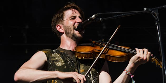 TORONTO, ON - JUNE 13:  Musician Owen Pallett performing on the main stage during day two of the Bestival music festival at Toronto Island on June 13, 2015 in Toronto, Canada.  (Photo by Dominik Magdziak Photography/WireImage)