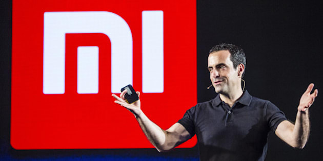 Hugo Barra, vice president of global operations at Xiaomi Corp., gestures while speaking during the launch of the company's Mi 5 smartphone in New Delhi, India, on Thursday, March 31, 2016. Foxconn Technology Group began assembling Xiaomi's first made-in-India smartphone from a new plant in the country's south last year, helping the Chinese company shorten delivery times and prop up margins. Photographer: Prashanth Vishwanathan/Bloomberg via Getty Images