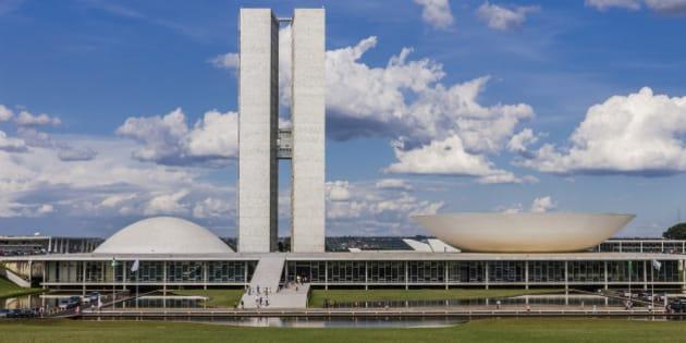 Distrito Federal, Federal District, The Congresso Nacional do Brasil (National Congress of Brazil), 1958, architect Oscar Niemayer.
