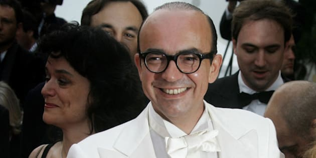 """French director Karl Zero arrives for a screening of[Italian director Nanni Moretti]'s in competition film """"Il Caimano"""" at the 59th Cannes Film Festival May 22, 2006."""
