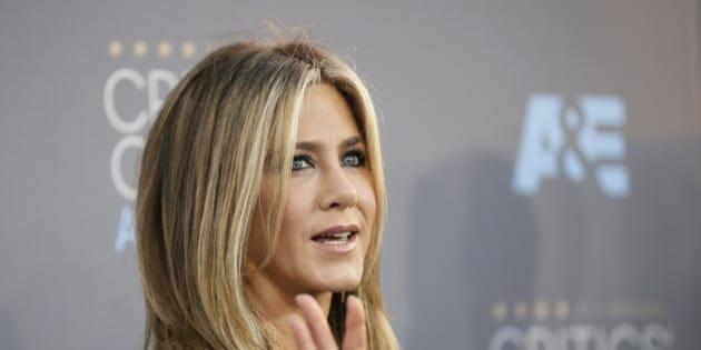 Actress Jennifer Aniston arrives at the 21st Annual Critics' Choice Awards in Santa Monica, California January 17, 2016.  REUTERS/Danny Moloshok