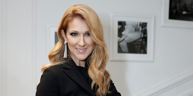 Singer Celine Dion poses before attending the Dior Haute Couture Fall Winter 2016/2017 fashion show in Paris, France, July 4, 2016. REUTERS/Benoit Tessier