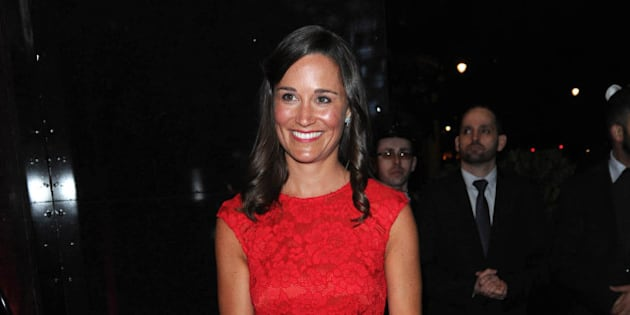 Photo by: KGC-03/STAR MAX/IPx 2/10/15 Pippa Middleton at the British Heart Foundation's Roll Out The Red Ball Gala at the Park Lane Hotel. (London, England, UK)