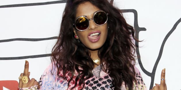 Singer M.I.A. attends the YouTube Music Awards in New York November 3, 2013. REUTERS/Andrew Kelly (UNITED STATES - Tags: ENTERTAINMENT) TEMPLATE OUT