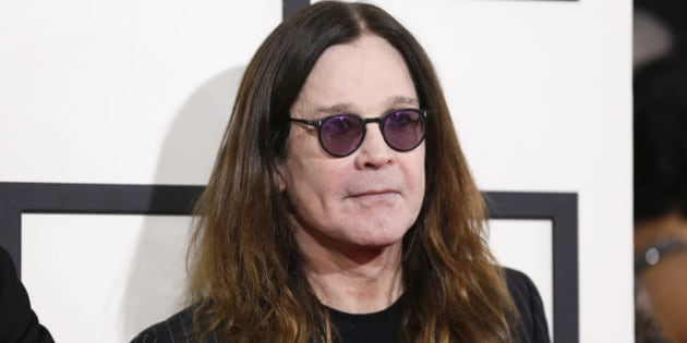 Ozzy Osbourne of the heavy metal band Black Sabbath arrives at the 56th annual Grammy Awards in Los Angeles, California January 26, 2014.     REUTERS/Danny Moloshok (UNITED STATES TAGS: ENTERTAINMENT) (GRAMMYS-ARRIVALS)