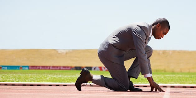how to think like an olympic athlete to win gold in business